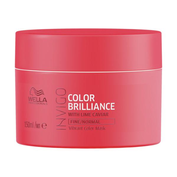 Wella INVIGO Brilliance Vibrant Color Maske fein/normal