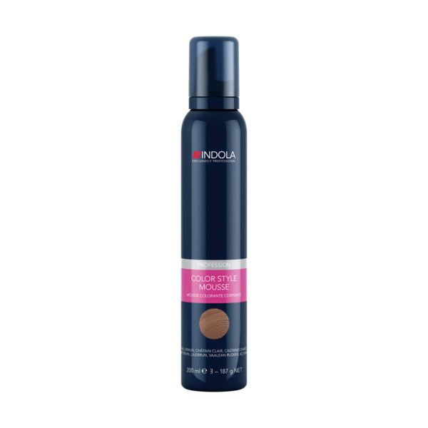 Indola Color Style Mousse Natural Light Brown