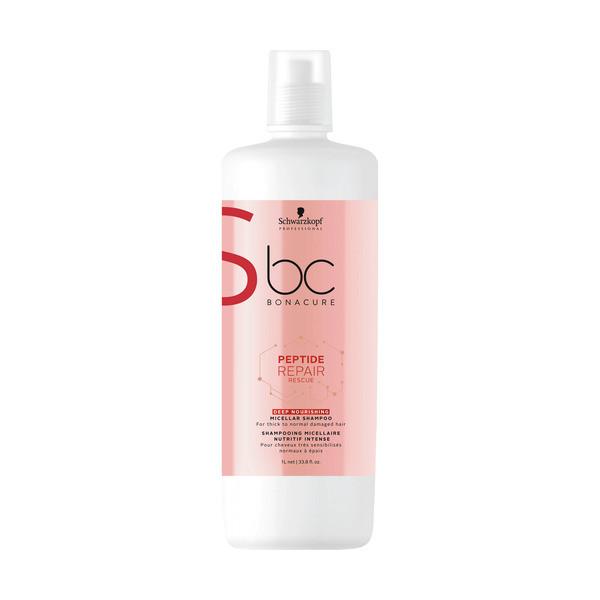 Schwarzkopf BC Bonacure Peptide Repair Rescue Deep Nourishing Micellar Shampoo