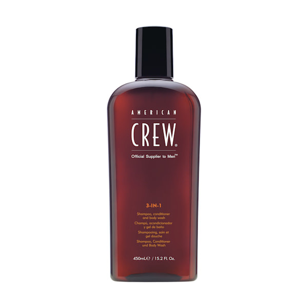 American Crew Classic 3 in 1 Shampoo, Conditioner & Body Wash XL