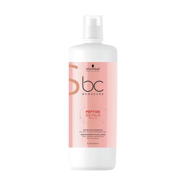 Schwarzkopf BC Bonacure Peptide Repair Rescue Micellar Shampoo LITER