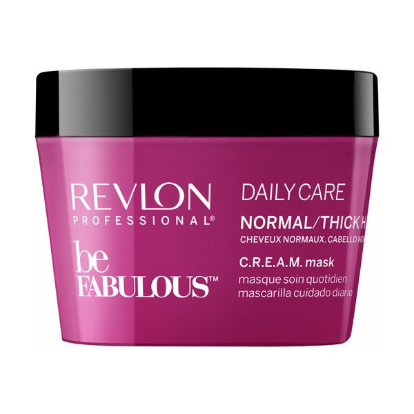 REVLON Be Fabulous Daily Care CREAM Mask Normal / Thick Hair