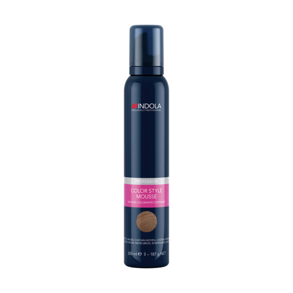 Indola Color Style Mousse Natural Medium Brown