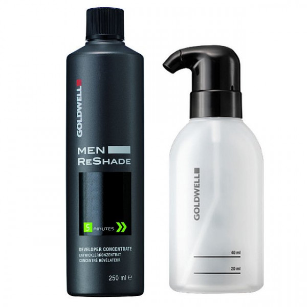 Goldwell Dualsenses For Men Reshade Developer & Applikatorflasche Set