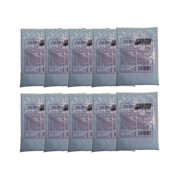 Der Haarpflegeprofi ULTRA-BLEACH Blondierpulver blau 10 x 500g Angebot
