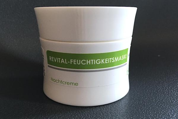 Biosence Naturkosmetik Revital-Feuchtigkeitsmaske + Nachtcreme