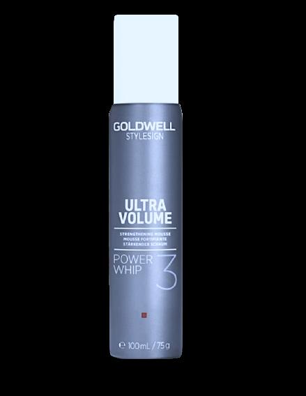 Goldwell Stylesign Ultra Volume POWER WHIP Stärkender Schaum Mini