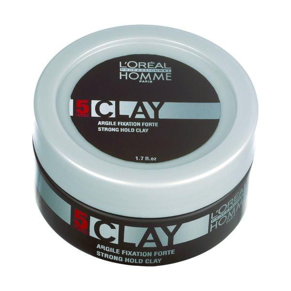 L'Oreal Homme Clay Paste für starke Fixierung