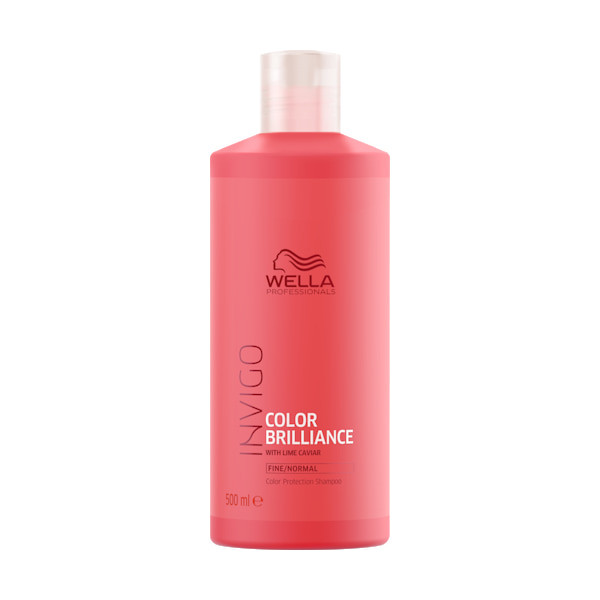 Wella INVIGO Brilliance Protection Shampoo feines/normales Haar XXL