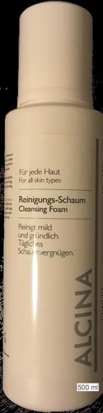 Alcina Kosmetik Reinigungsschaum Pflege für jede Haut KABINETT