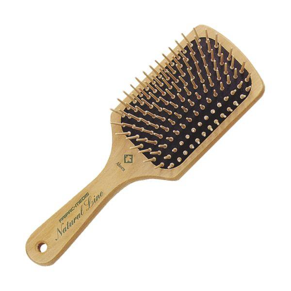 Fripac-Medis Natural Line Paddle Brush aus Ahornholz B-4320