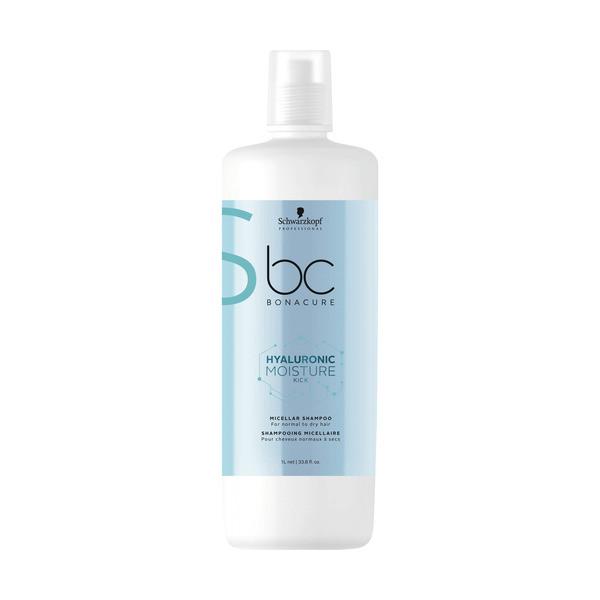 Schwarzkopf BC Bonacure Hyaluronic Moisture Kick Micellar Shampoo LITER