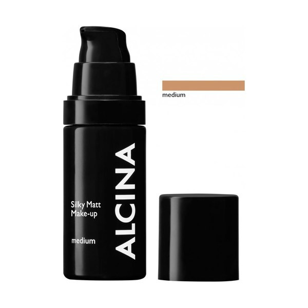Alcina Dekorative Kosmetik Teint Silky Matt Make-up medium