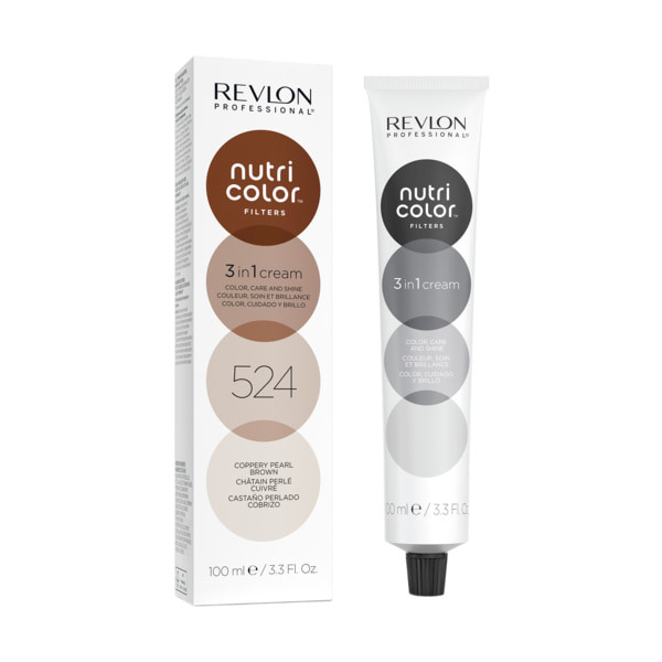 Revlon Nutri Color Filters 524 Coppery Pearl Brown