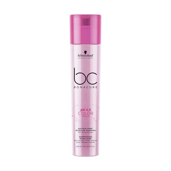 Schwarzkopf BC Bonacure ph 4.5 Color Freeze Micellar Sulfate Free Shampoo