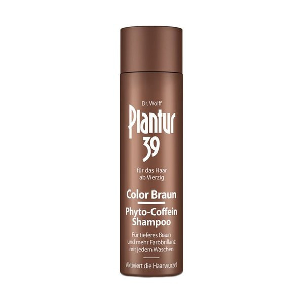 Dr. Kurt Wolff Plantur 39 Color Braun Coffein-Shampoo