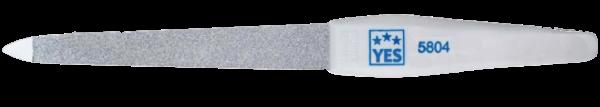 Becker Manicure YES 95804 Saphir Feile flach mit Griff 13cm