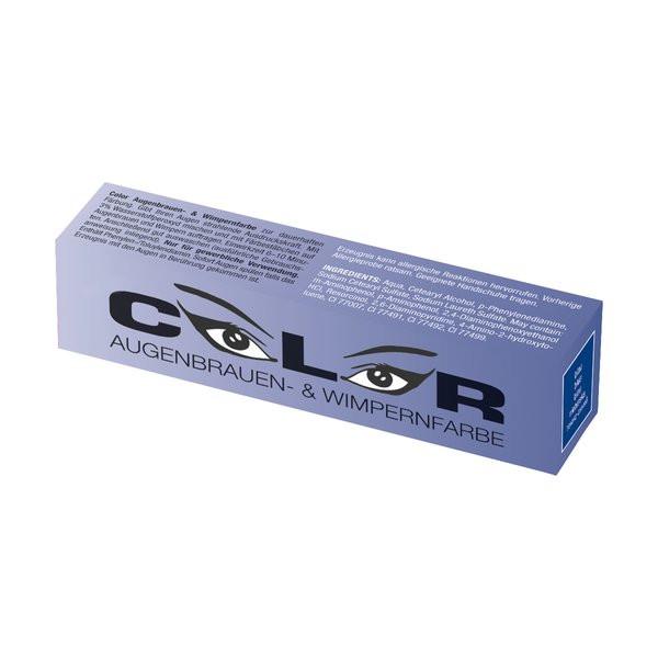 Comair Color Augenbrauen und Wimpernfarbe Blau