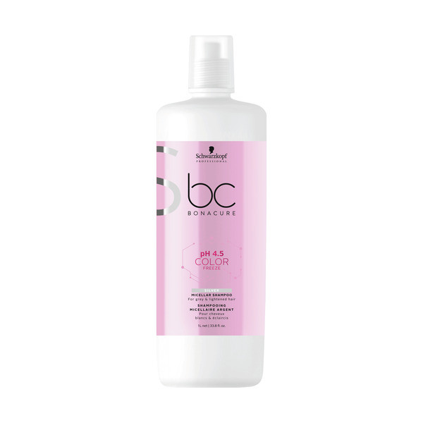Schwarzkopf BC Bonacure ph 4.5 Color Freeze Silver Shampoo LITER