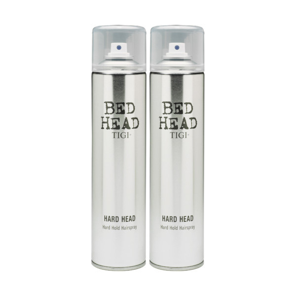 Tigi Bed Head Styling Hard Head Hairspray Doppelpack 385ml
