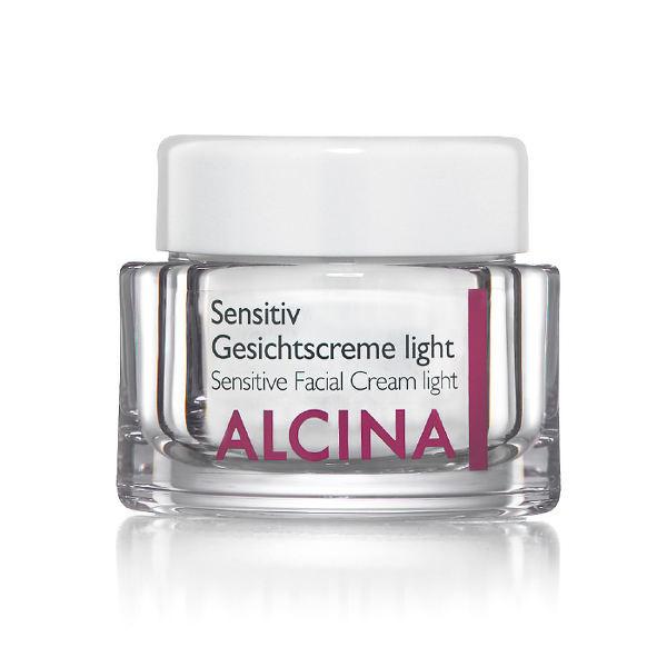 Alcina Kosmetik für empfindliche Haut - Sensitiv Gesichtscreme light