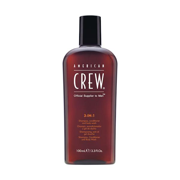 Revlon American Crew Classic 3 in 1 Shampoo Travel