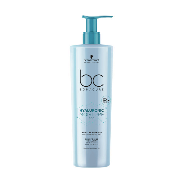 Schwarzkopf BC Bonacure Hyaluronic Moisture Kick Micellar Shampoo XXL