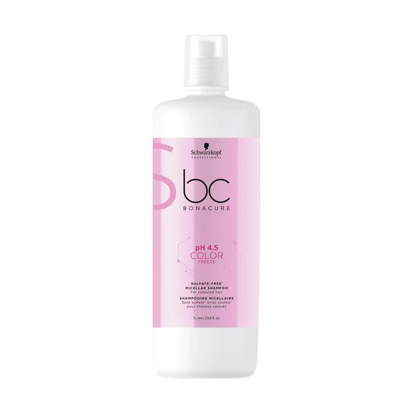 Schwarzkopf BC Bonacure ph 4.5 Color Freeze Micellar Sulfate Free Shampoo LITER