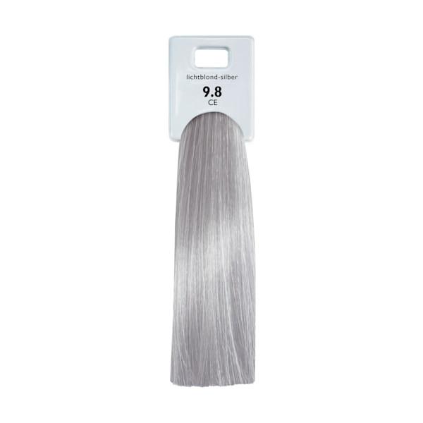 Alcina Color Gloss + Care Emulsion 9.8 Lichtblond Silber