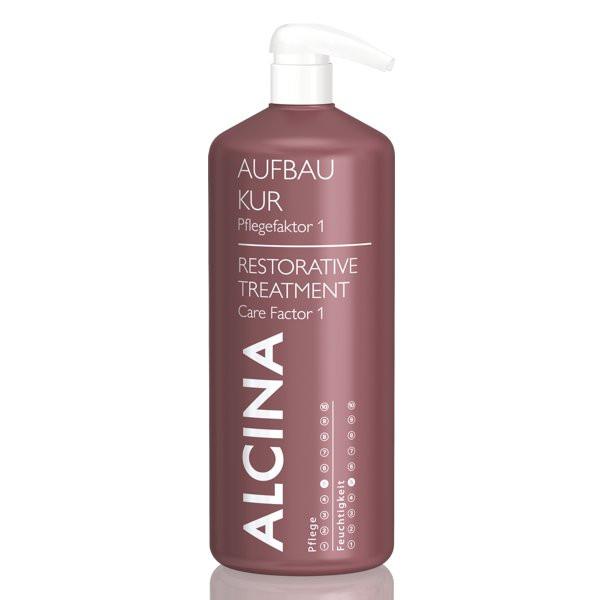 Alcina Aufbau-Kur Pflegefaktor 1 für trockenes Haar Kabinett
