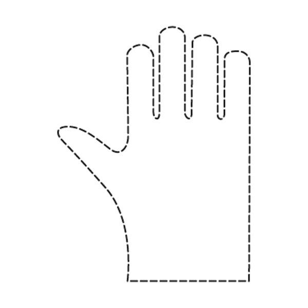 Comair Friseurbedarf Einweg-Handschuhe Damen Packung