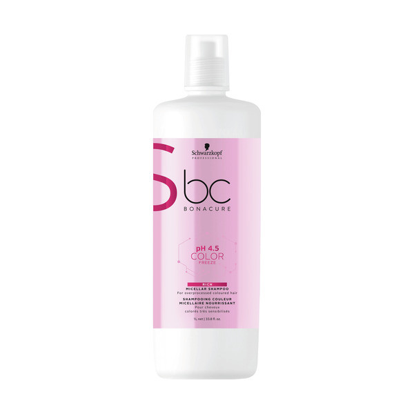 Schwarzkopf BC Bonacure ph 4.5 Color Freeze Micellar Rich Shampoo LITER