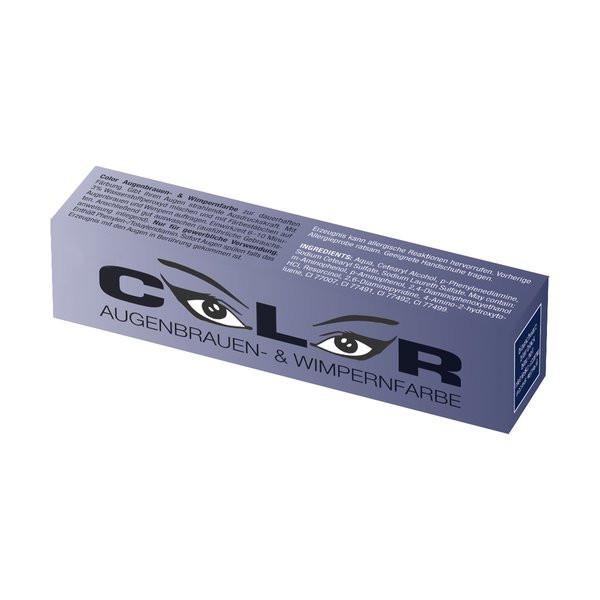 Comair Color Augenbrauen und Wimpernfarbe Blauschwarz