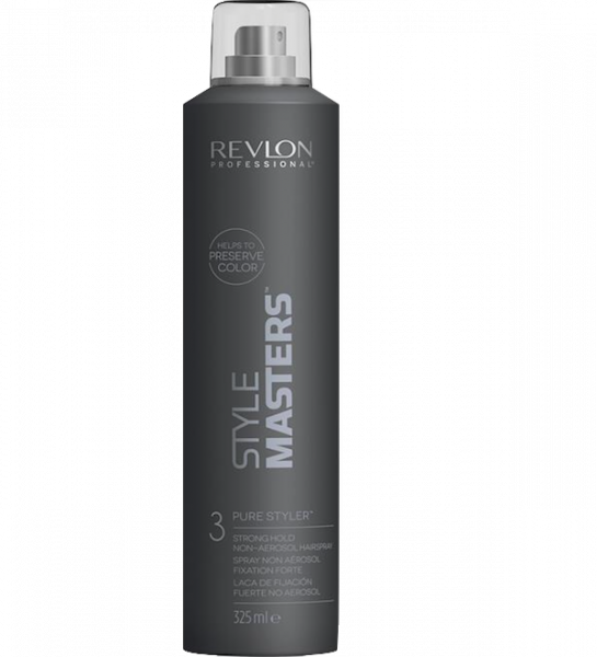 Revlon Style Masters Pure Styler 3 Strong Hold Non Aerosol Hairspray