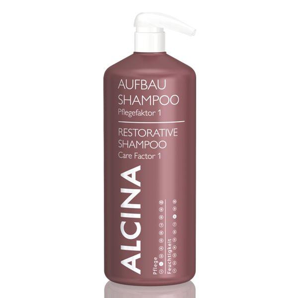 Alcina Aufbau-Shampoo Pflegefaktor 1 für trockenes Haar Kabinett