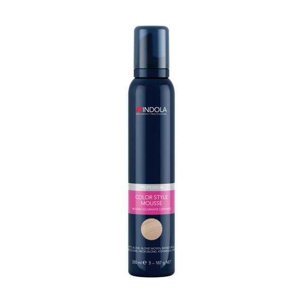 Indola Color Style Mousse Natural Medium Blond