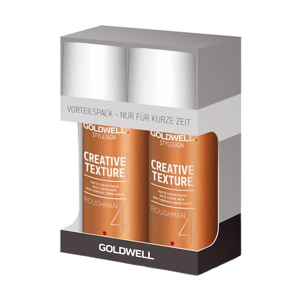 Goldwell STYLESIGN Texture Roughman Matte Cream Paste Doppelpack