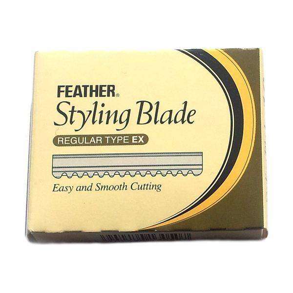 Feather Styling Blade Regular Type Ex - Päckchen