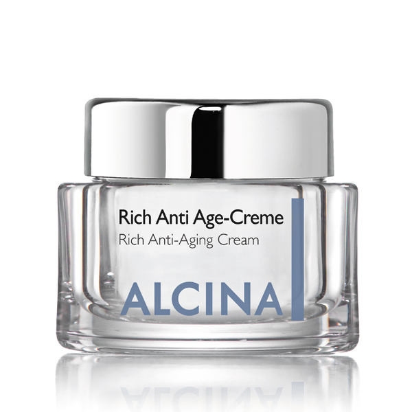 Alcina Kosmetik für reife, sehr trockene Haut - Rich Anti Age-Creme