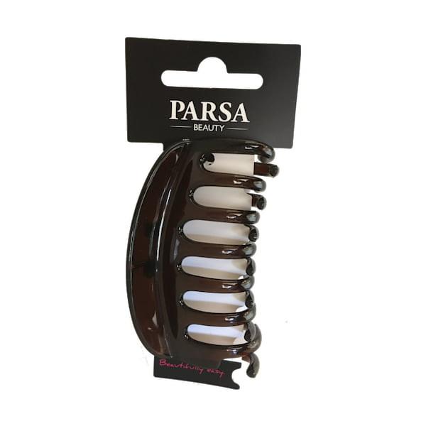 Parsa Haarschmuck Braun Wasserwell-Klammer XL, No. 87793