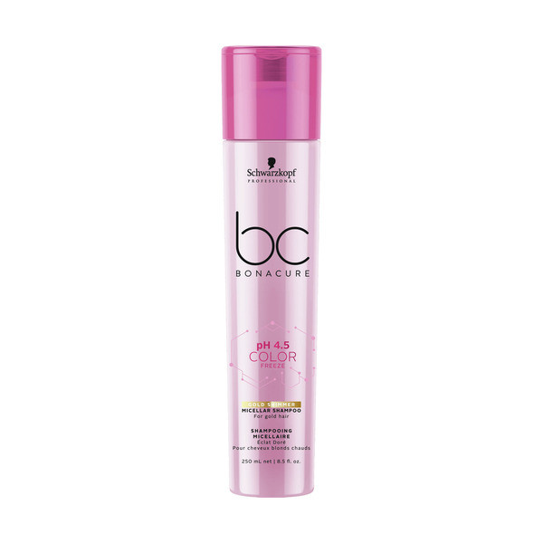 Schwarzkopf BC Bonacure ph 4.5 Color Freeze Gold Shampoo