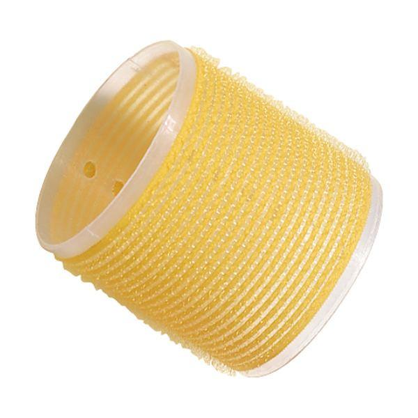 Comair Frisierzubehör Haftwickler gelb 66mm