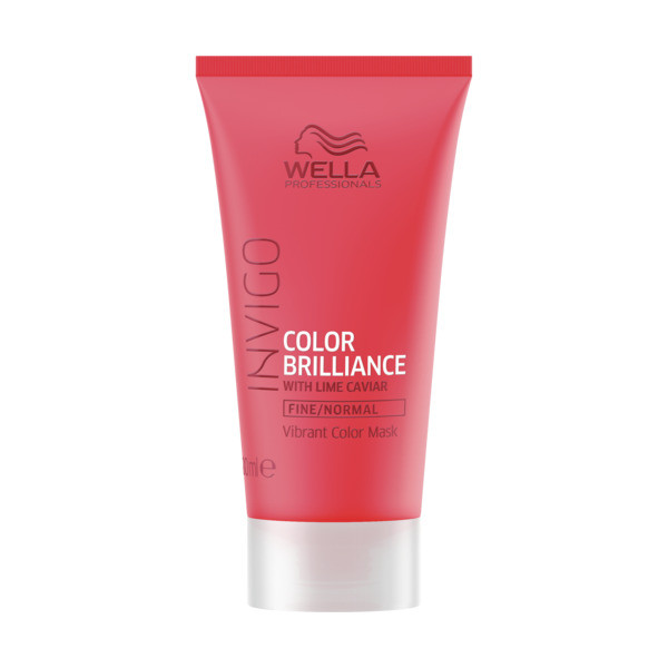 Wella INVIGO Brilliance Vibrant Color Maske fein/normal Mini