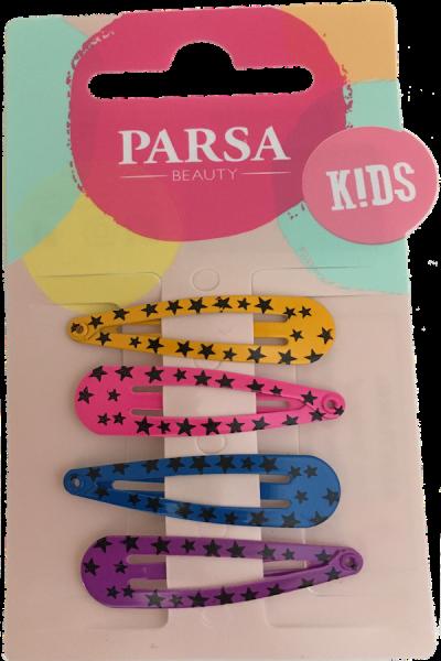 Parsa Haarschmuck Kids Schlafclips Sterne, No. 58333