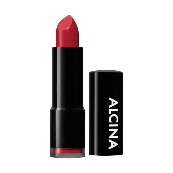 Alcina Dekorative Kosmetik Lip Shiny Lipstick Scarlet 010