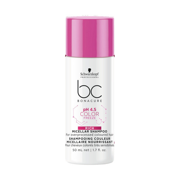 Schwarzkopf BC Bonacure ph 4.5 Color Freeze Micellar Rich Shampoo Mini