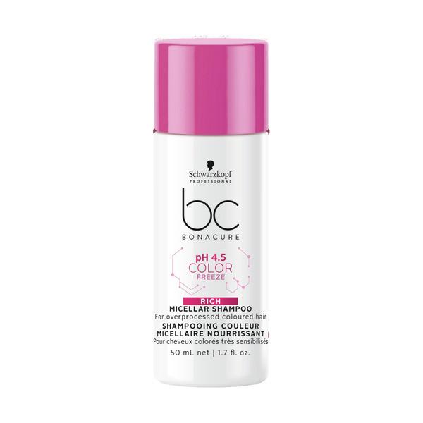 Schwarzkopf BC Bonacure ph 4.5 Color Freeze Micellar Rich Shampoo Mini