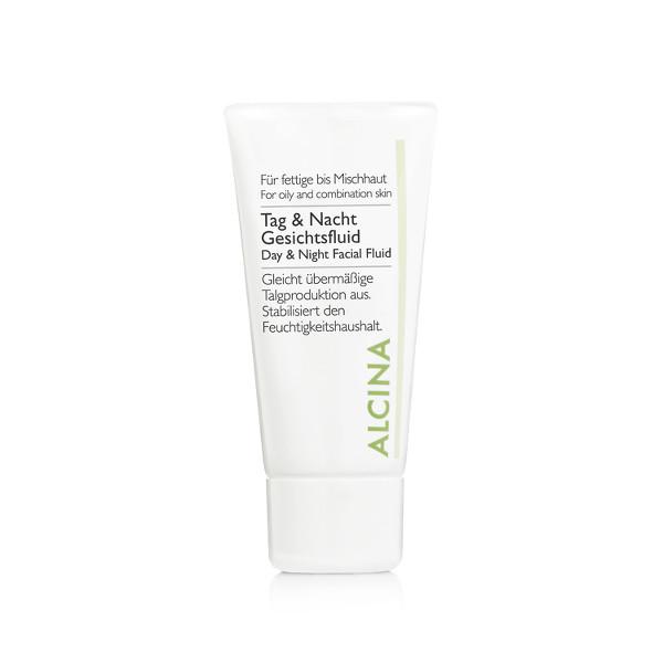 Alcina Kosmetik - Tag und Nachtfluid - Für fettige- bis Mischhaut