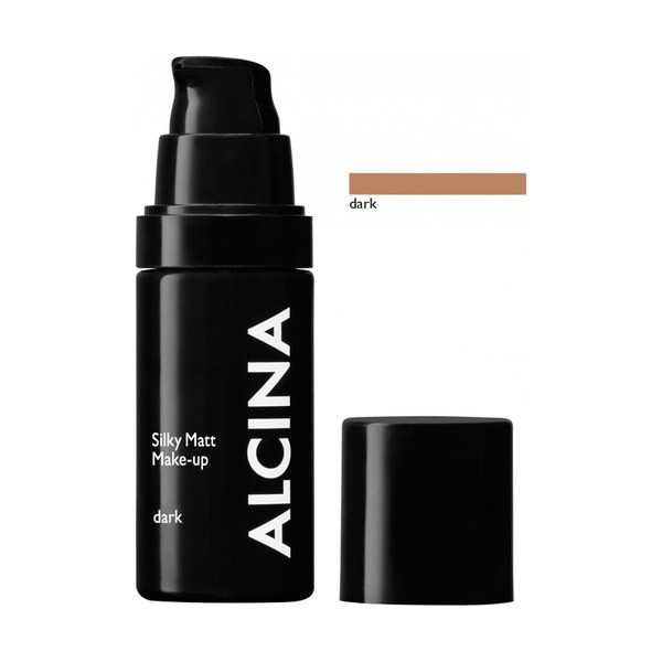 Alcina Dekorative Kosmetik Teint Silky Matt Make-up dark