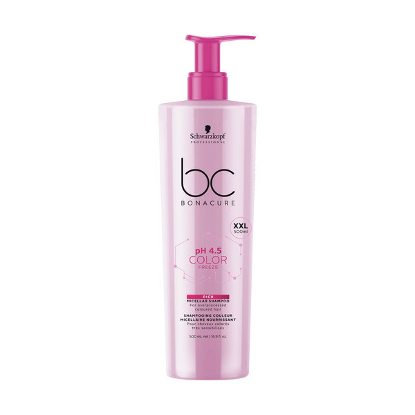 Schwarzkopf BC Bonacure ph 4.5 Color Freeze Micellar Rich Shampoo XXL